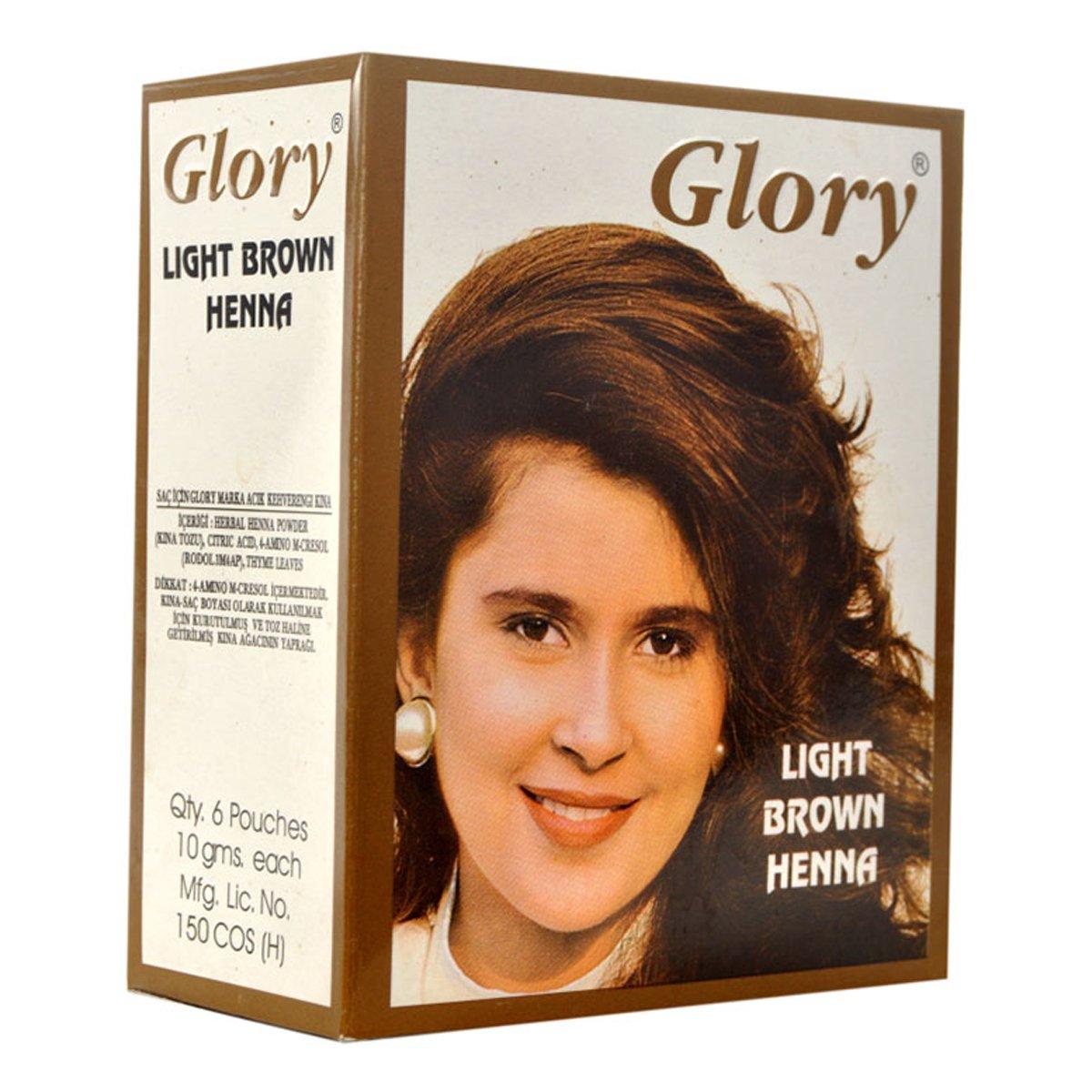 Glory Açık Kahverengi Hint Kınası 10Gr Pkt ürünü LokmanAVM mağazamızdan güvenle satın alın!